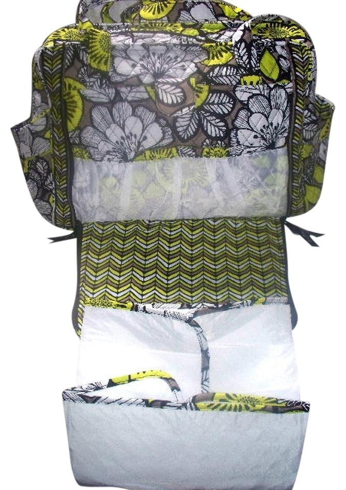 vera bradley nwt citron baby make a change diaper bag citron yellow black tradesy. Black Bedroom Furniture Sets. Home Design Ideas