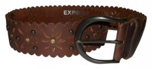 Express Express studded leather belt