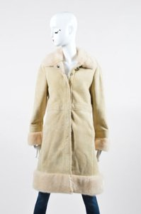 Coach Lamb Shearling Coat
