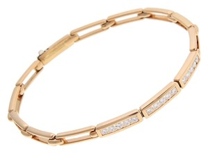 Tiffany & Co. Tiffany & Co. 18K Yellow Gold Diamond Channel Bracelet