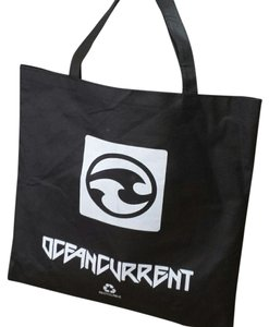 Ocean Current Tote in Black