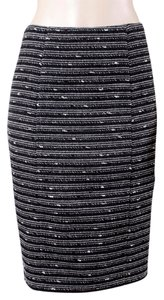 Nanette Lepore Skirt Black, White, Grey