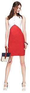 Tommy Hilfiger short dress white/red Mod on Tradesy