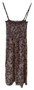Ann Taylor LOFT short dress Brown/White on Tradesy