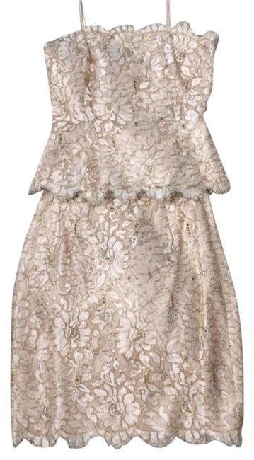 Preload https://item1.tradesy.com/images/cream-with-gold-threads-and-crystal-accents-designs-mid-length-night-out-dress-size-6-s-1100140-0-0.jpg?width=400&height=650