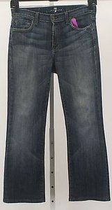 7 For All Mankind X Faded Boot Cut Jeans