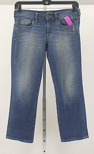Lucky Brand Lucky 628 X Ol Dolup 7w10635 Crop B252 Straight Leg Jeans