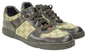 Gucci Lace-up Monogram Athletic