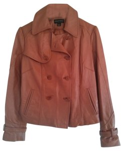 Bagatelle rust (orange brown) Leather Jacket