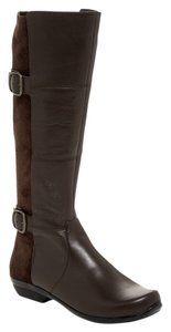 Dansko Odessa Tall Leather 38 Brown Boots