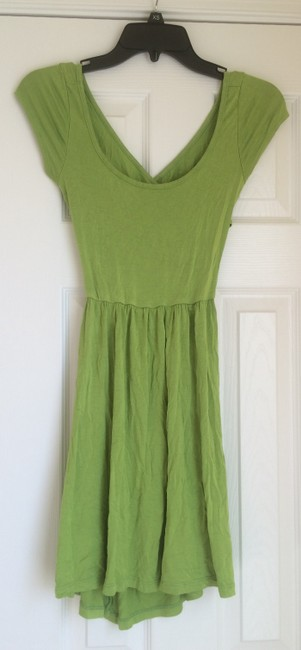 Other short dress Lime Green Cotton Back on Tradesy Image 1