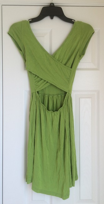 Other short dress Lime Green Cotton Back on Tradesy Image 3