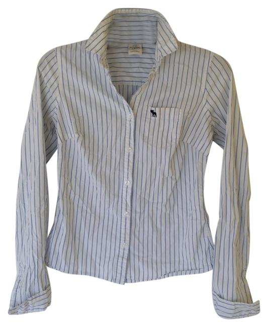 Preload https://img-static.tradesy.com/item/11004223/abercrombie-and-fitch-white-and-blue-oxford-a-and-f-button-down-top-size-8-m-0-1-650-650.jpg