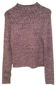 Mossimo Cable Knit Fuzzy Sweater