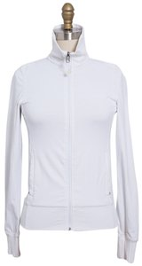 Lululemon White Workout Jacket