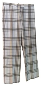 Burberry London Trouser Pants Grey plaid