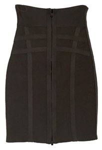 Herv Leger Skirt Grey