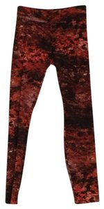 Helmut Lang Red and black Leggings