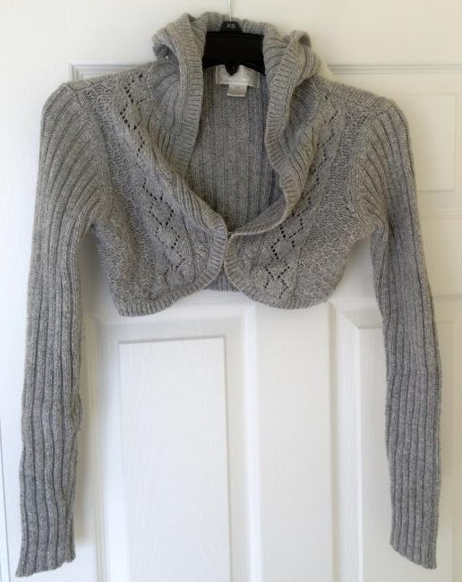 American Eagle Outfitters Empire Waist Hood Cardigan Image 2