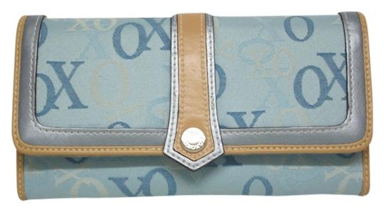 Preload https://item4.tradesy.com/images/xoxo-light-blue-with-beige-and-silver-trim-women-s-wallet-1100558-0-0.jpg?width=440&height=440