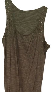 BCBGMAXAZRIA short dress Army Green on Tradesy