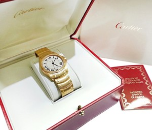 Cartier Cartier 18 karat yellow gold watch