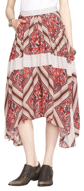 Preload https://img-static.tradesy.com/item/11005936/free-people-red-printed-paradise-pleated-handkerchief-skirt-size-8-m-29-30-0-1-650-650.jpg