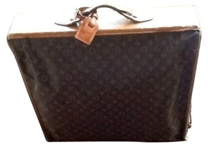 Louis Vuitton LV Original Leather And Monogram Canvas Travel Bag
