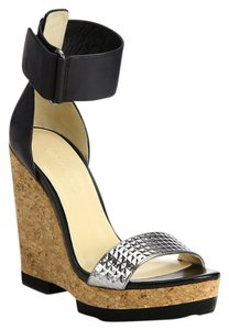 Jimmy Choo Black /Metallic Sandals