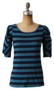 Anthropologie T Shirt Blue