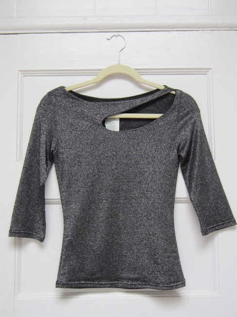 Item - Black and Silver Top