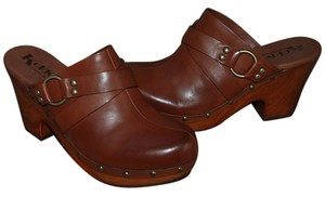 Kork-Ease Brown Mules