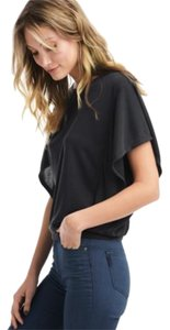 Ella Moss Cascade Sleeve T Shirt Blacks