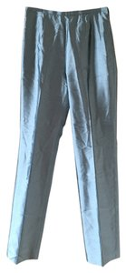 Escada Light Slate Trouser Pants Blue