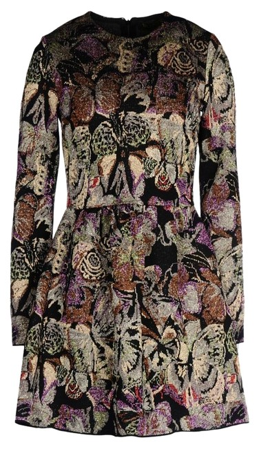 Preload https://img-static.tradesy.com/item/11008513/valentino-purple-black-brown-floral-butterfly-jacquard-short-cocktail-dress-size-8-m-0-14-650-650.jpg