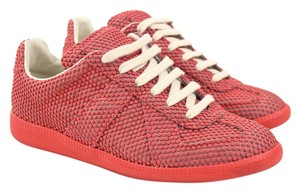 Maison Margiela Dots Caviar Embossed Red Athletic