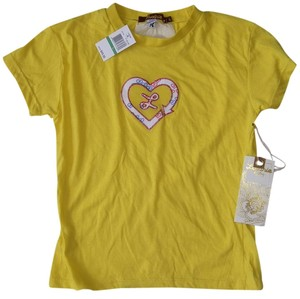 Luxirie by LRG T-shirt Cotton T Shirt yellow