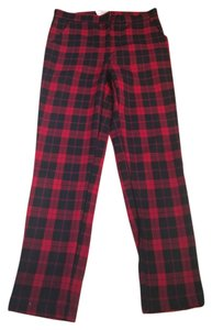 Nasty Gal Cigarette Pant Plaid Pants