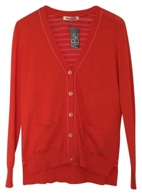 Preload https://img-static.tradesy.com/item/11009608/juicy-couture-red-cardigan-size-8-m-0-1-650-650.jpg