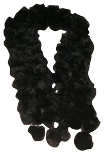 Genuine Black Fur Scarf Free Shipping