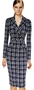 VfEmage Cotton Tartan Plaid Dress