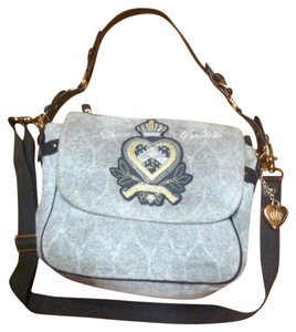 Juicy Couture Grey Messenger Bag