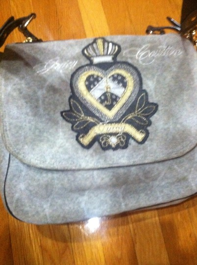 Juicy Couture Grey Messenger Bag Image 1