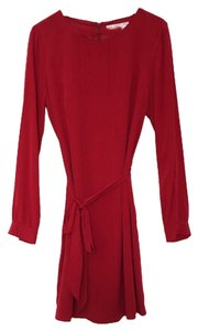 Trina Turk short dress burgundy on Tradesy