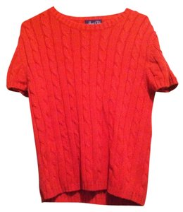 Hunt Club Cable Knit Short Sleeve Sweater