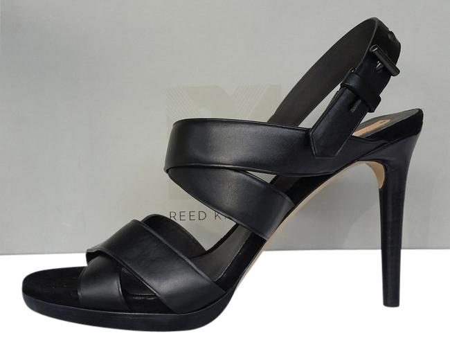 Item - Black Box New Boxer Leather Strappy Heels 40 Sandals Size US 9.5 Regular (M, B)