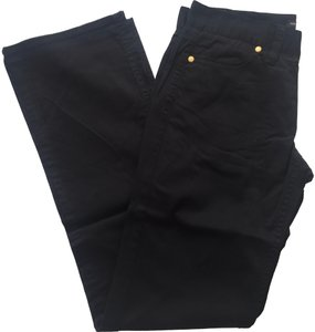 New York & Company Downtown Rise Casual Size 2 Boot Cut Pants Black
