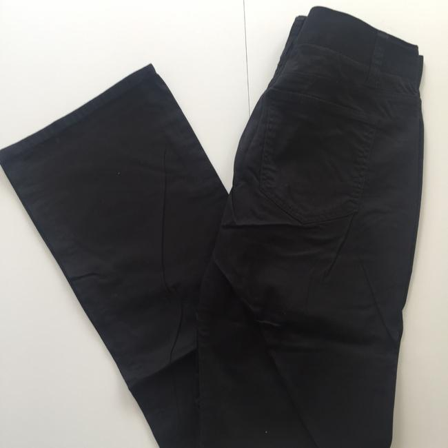 New York & Company Downtown Rise Casual Size 2 Boot Cut Pants Black Image 1
