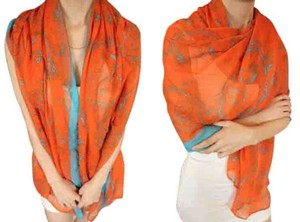 Other Horse & Carriage Print Oversized Scarf Wrap Free Shipping