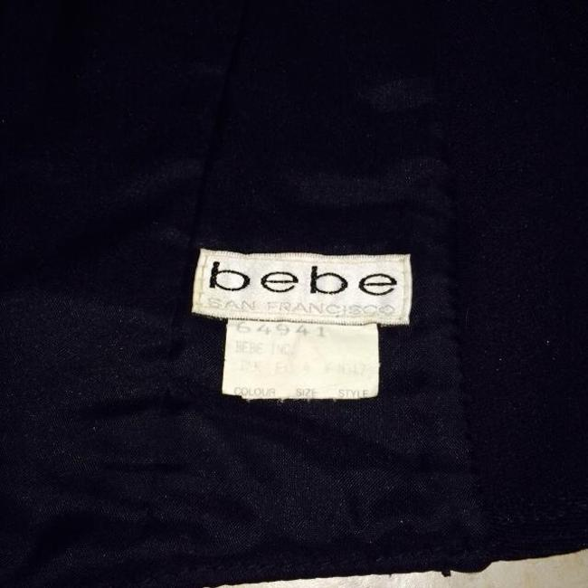 bebe leather Top bebe leather
